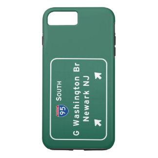 George Washington Bridge Interstate I-95 Newark NJ iPhone 8 Plus/7 Plus Case