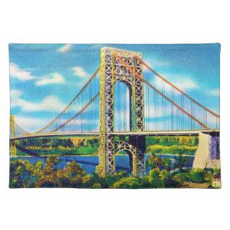 George Washington Bridge, New York City Placemat