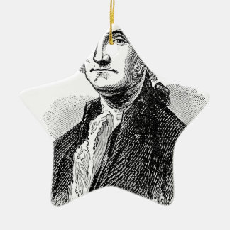 George Washington Christmas Ornament