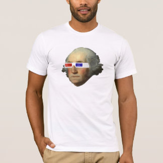 George Washington in 3D T-Shirt