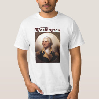 George Washington in Military Uniform T-Shirt