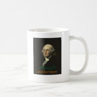 George Washington Land Surveyor Coffee Mug