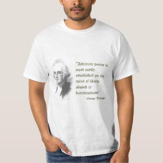 George Washington on Liberty T-shirt