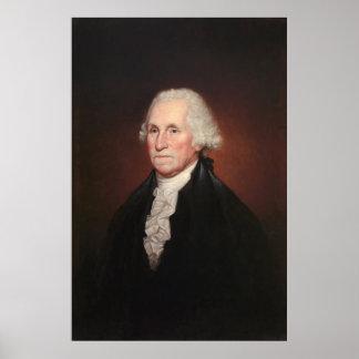 GEORGE WASHINGTON Portrait by Rembrandt Peale Poster