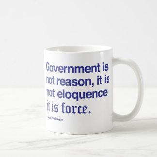 George Washington Quote Coffee Mug / Blue
