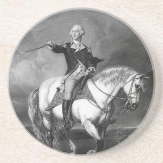 George Washington Salute coaster