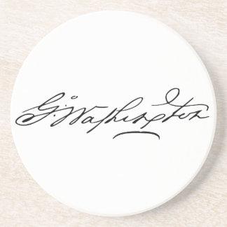 George Washington Signature Coaster
