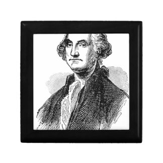 George Washington Small Square Gift Box