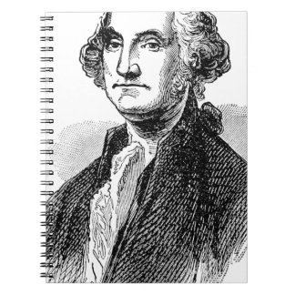George Washington Spiral Note Book