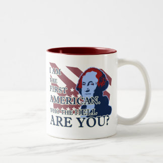 George Washington The First American Mug
