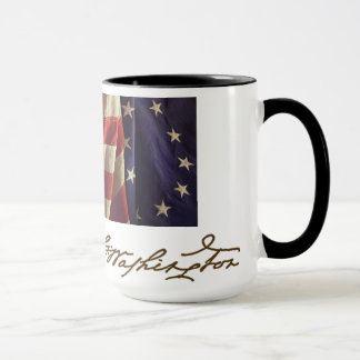 """George Washington's """"mug""""/face Mug"""