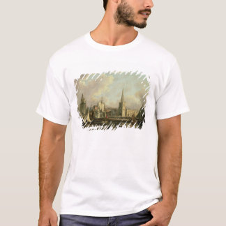 George's Dock Basin, Liverpool, 1797 (oil on canva T-Shirt