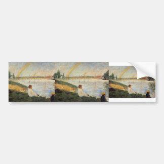 Georges Seurat- Rainbow Bumper Stickers