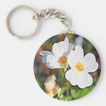 Georgia Cherokee Rose Key Chain