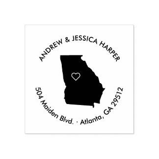 Georgia Moving Announcement Address Stamp
