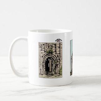 Georgian architecture coffee mug