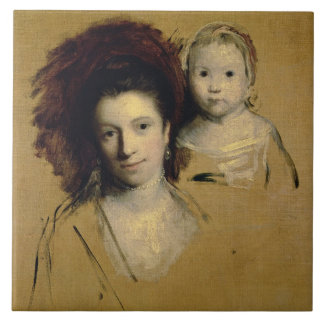 Georgiana, Countess Spencer and her Daughter Lady Tile
