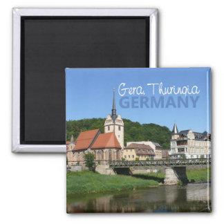 Gera Thiringia Germany Photo Souvenir Magnets