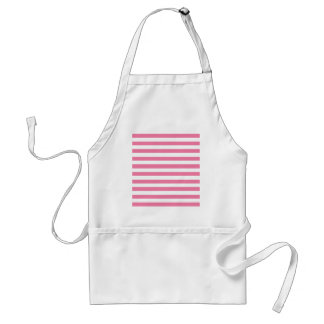 Gerber Daisy And White Stripes Apron