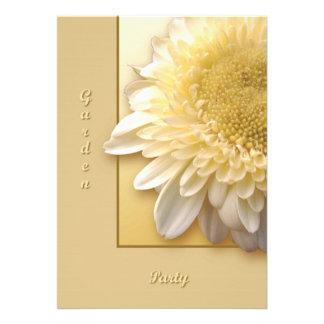 Gerbera Daisy Invitation