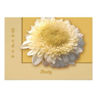 Gerbera Daisy Invitations