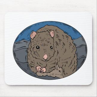 Gerbil 2 mouse pad