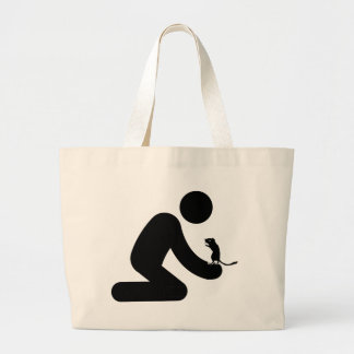 Gerbil Lover Tote Bags