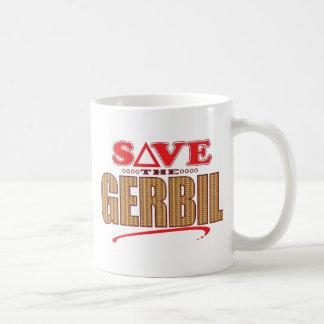 Gerbil Save Basic White Mug