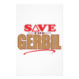 Gerbil Save Personalised Stationery