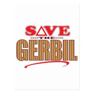 Gerbil Save Postcard