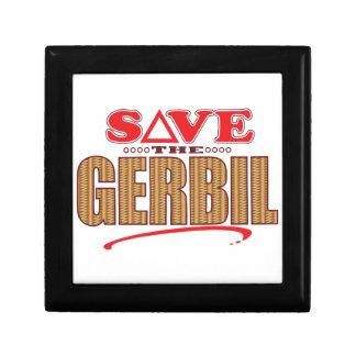 Gerbil Save Small Square Gift Box