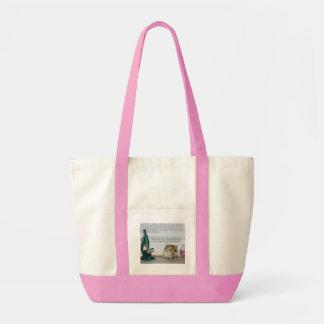 Gerbil Scientist Totebag Tote Bags