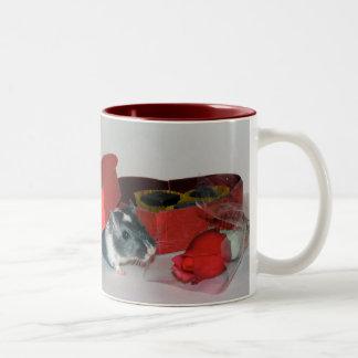 Gerbil Valentine's Mug