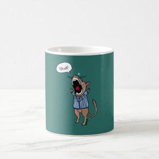 Gerbil Yawning Magic Mug