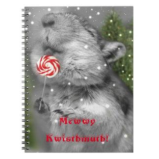 Gerbil's Christmas Dream Spiral Notebook