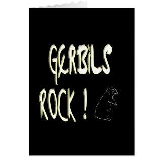 Gerbils Rock! Greeting Card