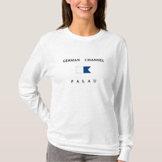 German Channel Palau Alpha Dive Flag T-Shirt