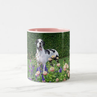 German dogge great dane duitse dog dogue alleman Two-Tone coffee mug