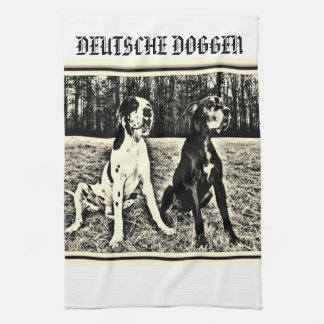 German Dogge, great dane, Hunde, Dogue Allemand Hand Towel
