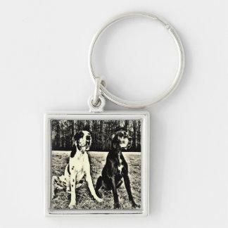 German Dogge, great dane, Hunde, Dogue Allemand Keychain