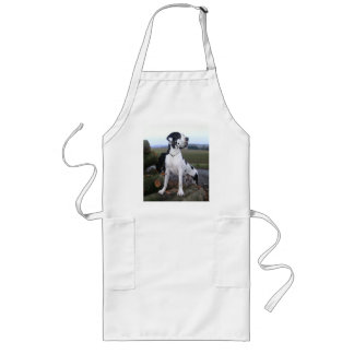 German Dogge, great dane, Hunde, Dogue Allemand Long Apron