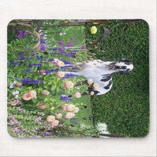 German Dogge, great dane, Hunde, Dogue Allemand Mouse Pad