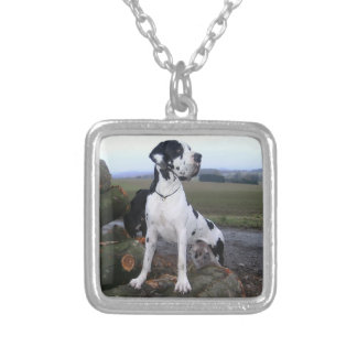 German Dogge, great dane, Hunde, Dogue Allemand Custom Necklace