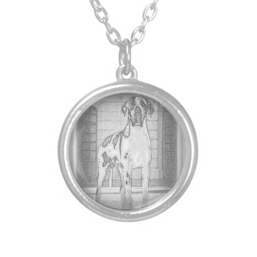 German Dogge, great dane, Hunde, Dogue Allemand Necklace