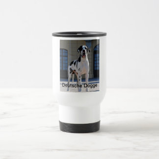 German Dogge, great dane, Hunde, Dogue Allemand Stainless Steel Travel Mug