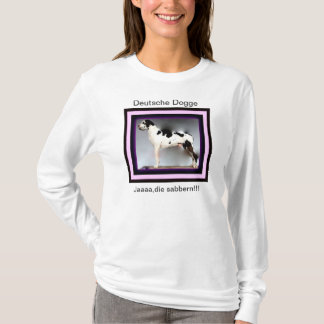 German Dogge, great dane, Hunde, dogue allemand T-Shirt