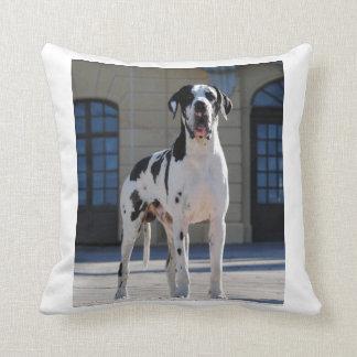 German Dogge, great dane, Hunde, Dogue Allemand Throw Cushion
