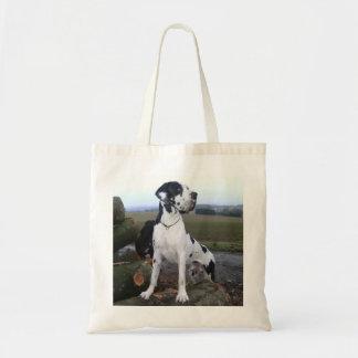 German Dogge, great dane, Hunde, Dogue Allemand Budget Tote Bag