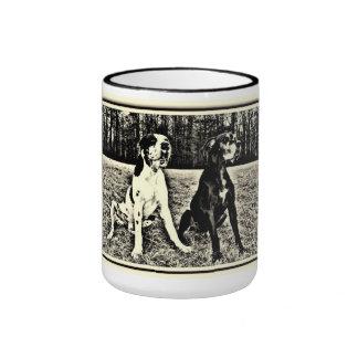 German Dogge, great dane, Hunde, Harlekin, gefleck Ringer Mug