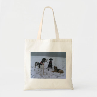 German Dogge, great dane, Hunde, Weihnachten Tote Bags